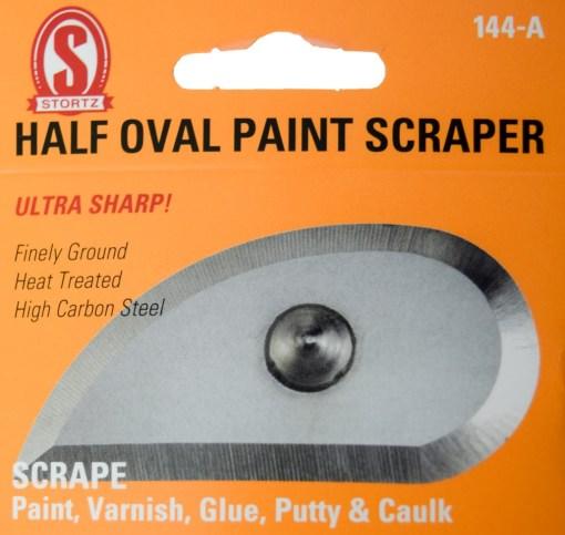 144-a half oval paint scraper