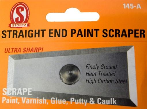 145-a straight end paint scraper