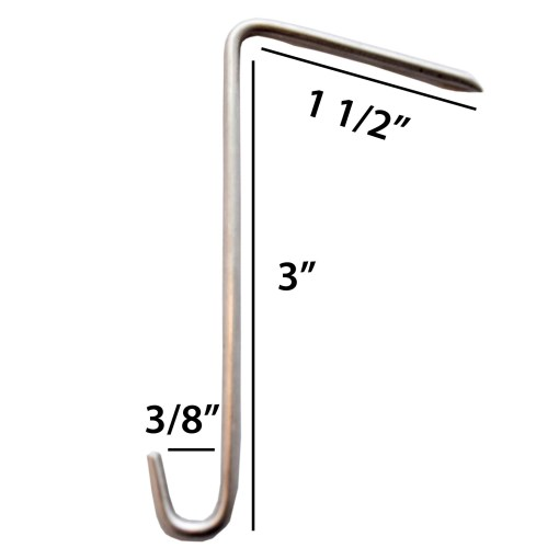Stainless Steel Slate Hook
