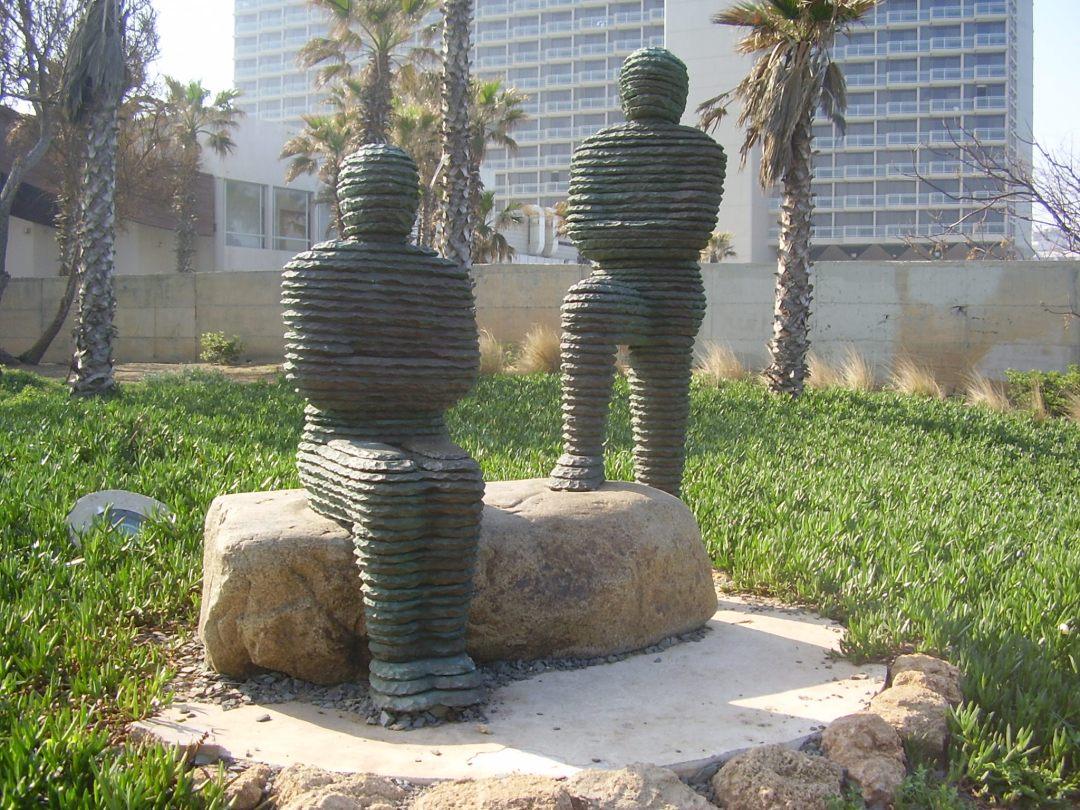Slate Statues