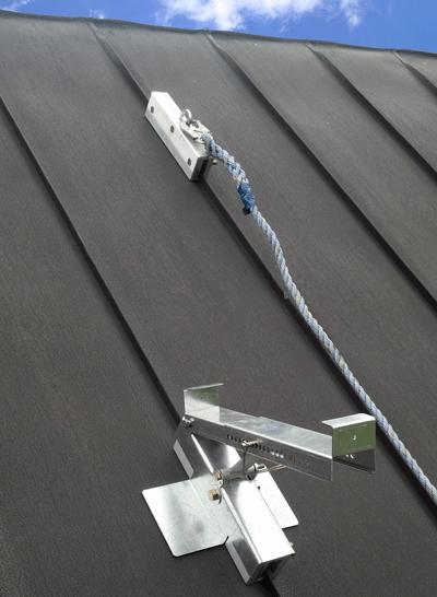 seam safe roof bracket