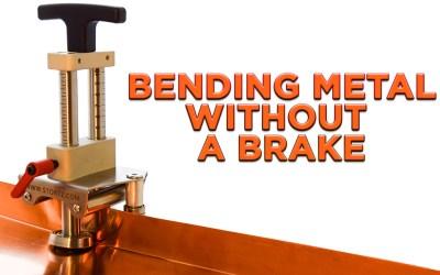 Bending Metal Without A Brake