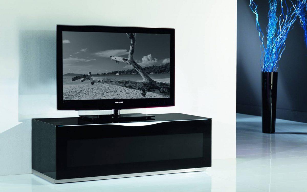 meuble tv verre laque story