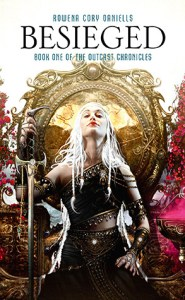Some of the most gorgeous cover art I've ever seen, Rowena Cory Daniells' Besieged