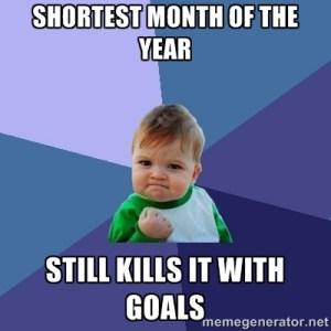 feb goals