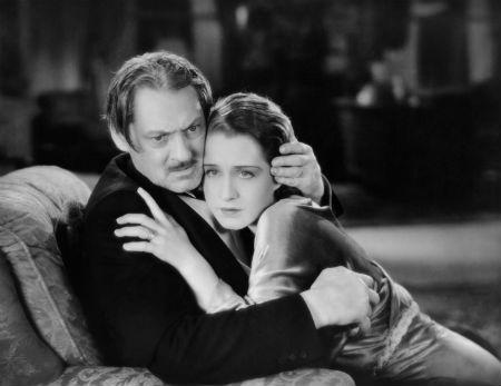 Lionel Barrymore & Norma Shearer