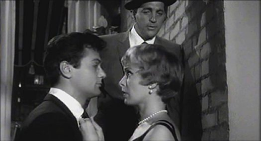 Tony Curtis, Janet Lee & Dean Martin