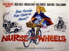 Nurse on Wheels Poster