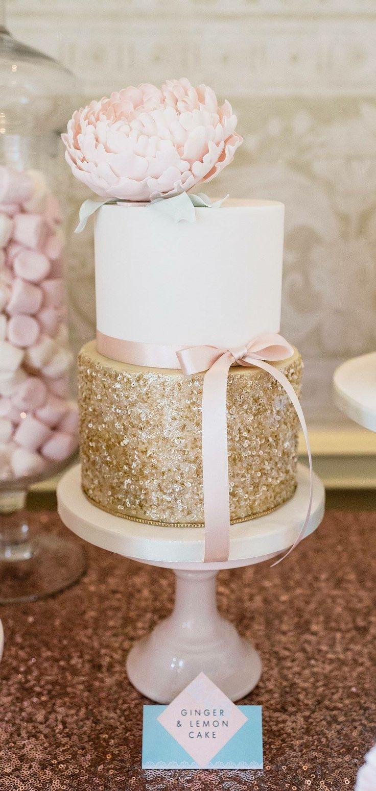 Glam Wedding Decor: 14 DIY Glitter Wedding Ideas
