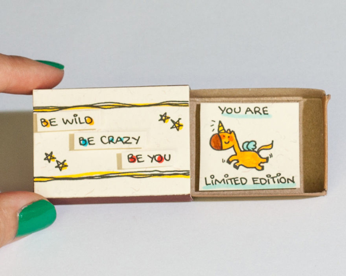 30 Precious Greeting Cards Made Out Of Matchboxes That