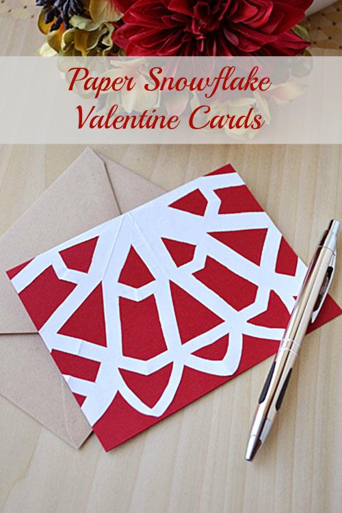 Snowflake Inspired Valentine Cards Storypiece