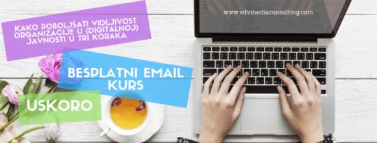 Besplatni email kurs VDV Media