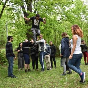 V neformálnom vzdelávaní sa využívajú rôznorodé metódy - od dramatických techník, cez umenie, médiá až po šport / Foto: Archív Thalia Teatro