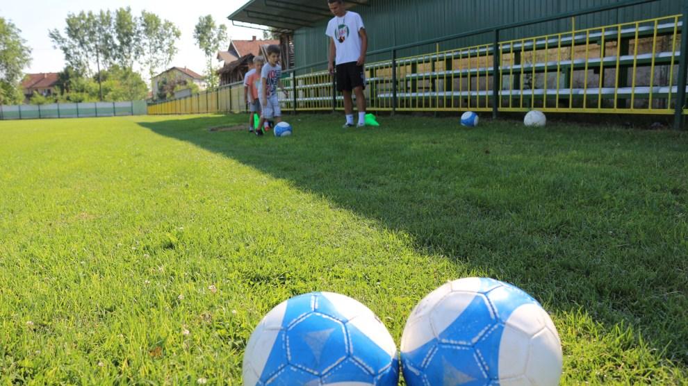 Trening najmlađih fudbalera FK Maglić / Foto: Vladimira Dorčova Valtner
