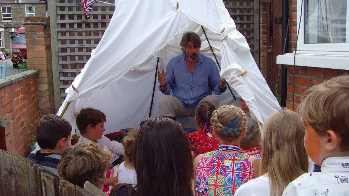 Storytelling for the Queen's Birthday Celebrations