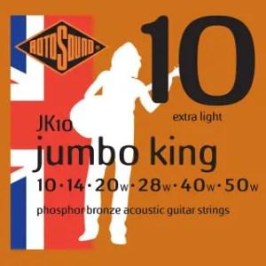RotoSound Acoustic Jumbo King String Set