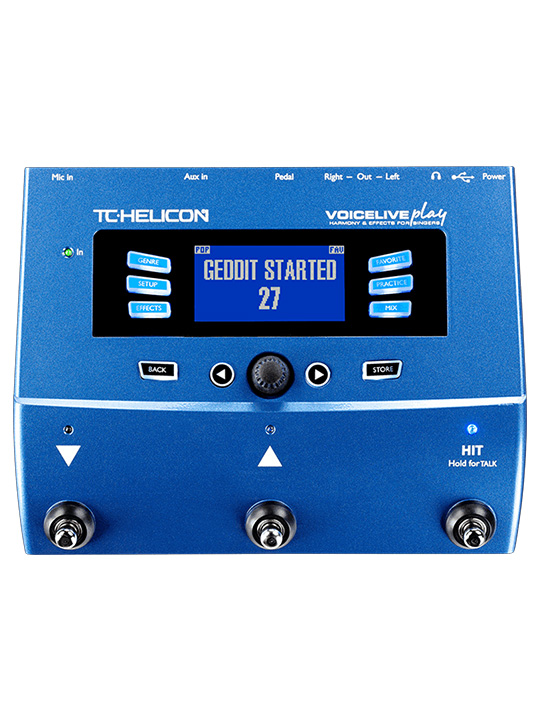 TC Helicon Vocal Effects System