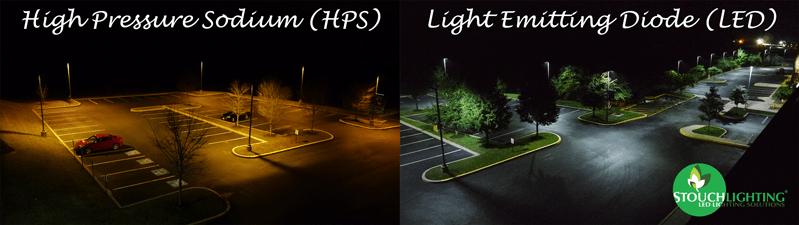 Lighting Comparison LED Vs High Pressure Sodium HPS And
