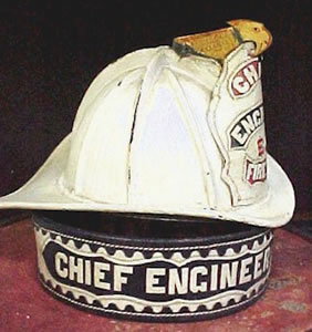 Early Chief Engineer Helmet