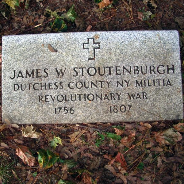 James W. Stoutenburgh, Dutchess County, New York, Militia, Revolutionary War, 1756 - 1807
