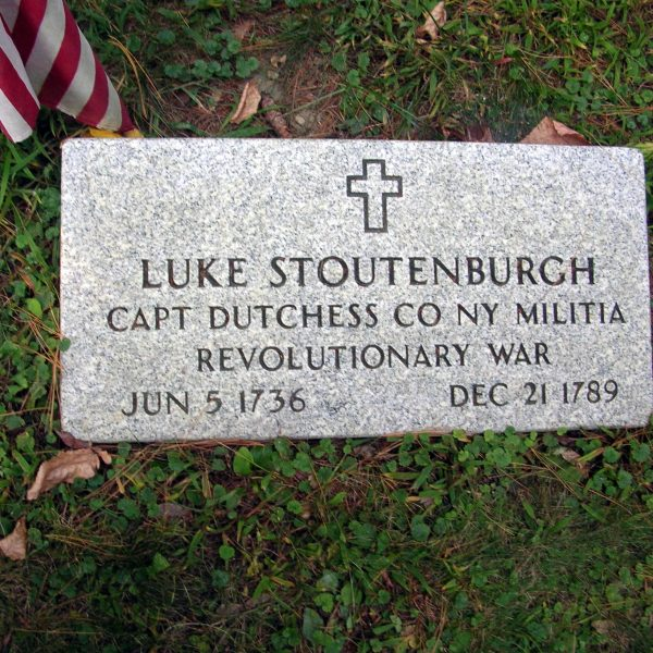 Luke Stoutenburgh, Captain, Dutchess County, New York, Militia, Revolutionary War, June 5, 1736 - December 21, 1789