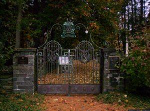 Stoutenburgh Burying Ground Cemetery Gates
