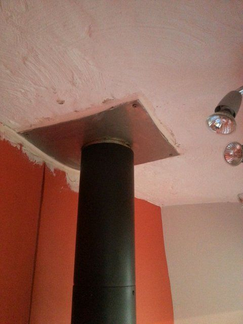 Connecting A Flue Pipe To A Chimney The Stove Fitter S