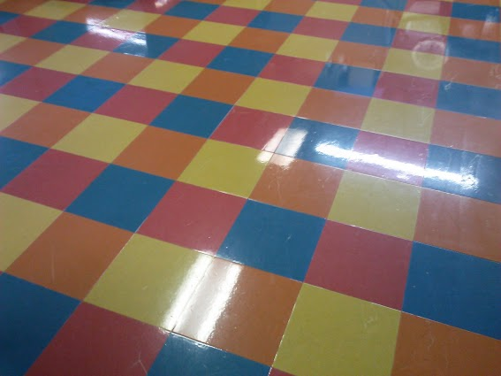 polished-floor-Circus Skate-roller rink-Murray-Kentucky