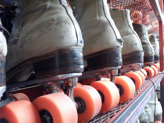 well-worn-skates- Circus Skate roller rink-Murray Kentucky