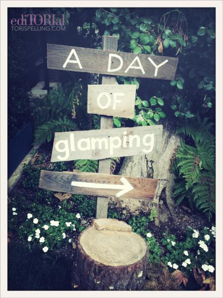 LIttle Maven-Glamp for a Day