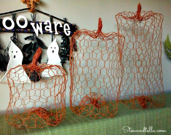 how to make a person out of chicken wire