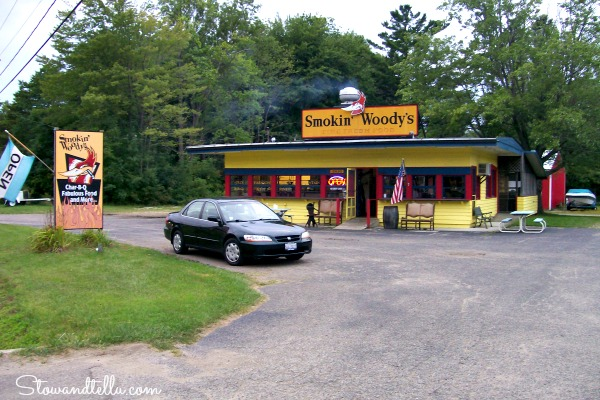 Smokin Woody's BBQ--Michigan-Rte12