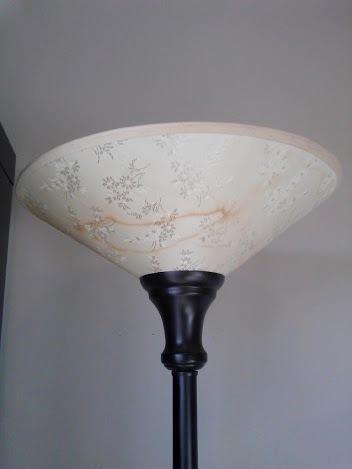 lamp shade before