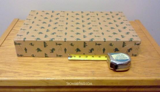 Turn a gift box into a storage box-StowandTellU5