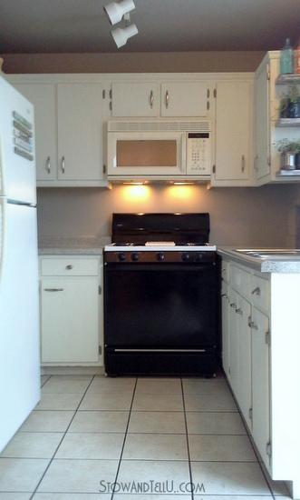 Kitchen progress-phase one is done- StowandTellU