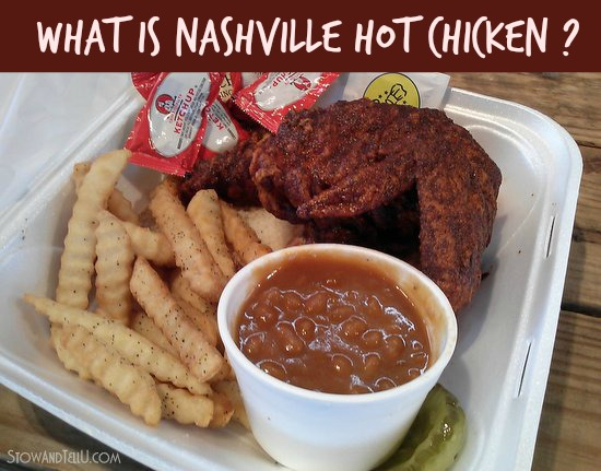 What is Nashville hot chicken