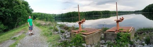 Hematite-lake