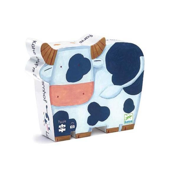 cow shaped puzzle