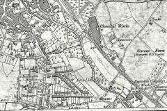 map, 1903, stowupland