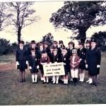 Group of Girls in Girl's Brigade uniform