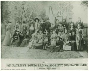 St. Patrick's Young Ladies Sodality Dramatic Club - May 1, 1892
