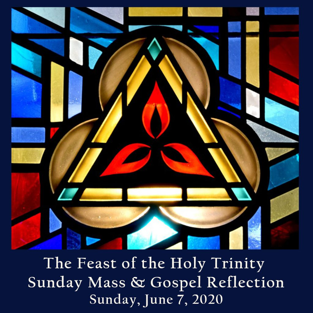 Sunday Mass And Gospel Reflection The Feast Of The Most