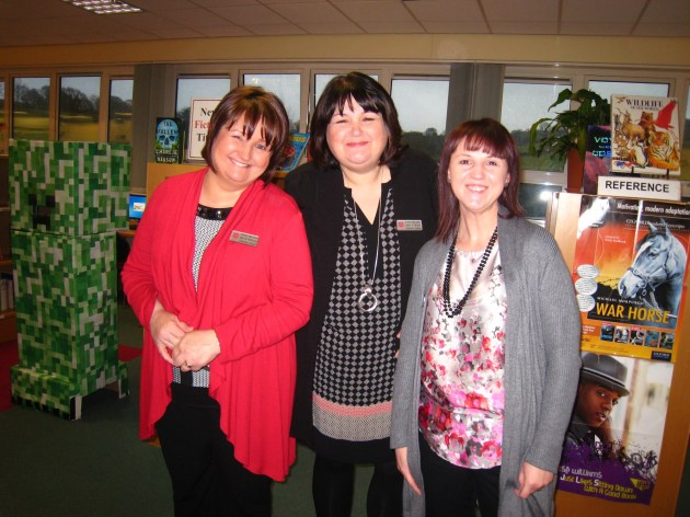 Mrs McKenna, Mrs Ward and Mrs Roker
