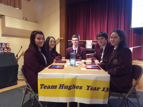 Year 13 Team who led most of the way!