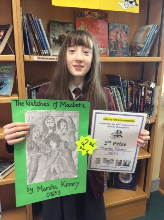 2nd Place Marsha Kinney Year 8