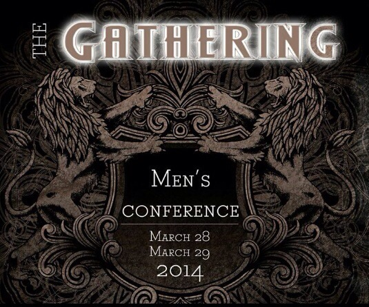 image used for The Gathering the first Mens Conference at St Paul's church Worcester