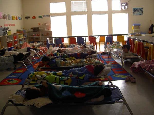 Preschool Cots Room