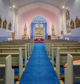 St Mary's new carpet