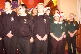 Members of Winstanley Community College choir