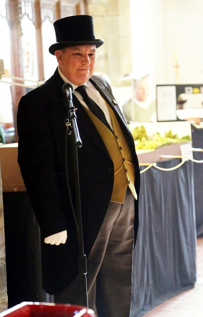 The Fat Controller opens our Autumn Fair